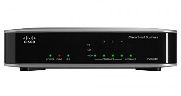 Cisco RVS4000 4-port Gigabit Security Router – VPN
